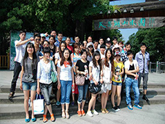 Chinapack team go to travel